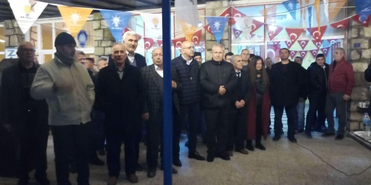 Ak Parti Enez ilce seçim bürosu açıldı. Meclis üyeleri tanıtıldı