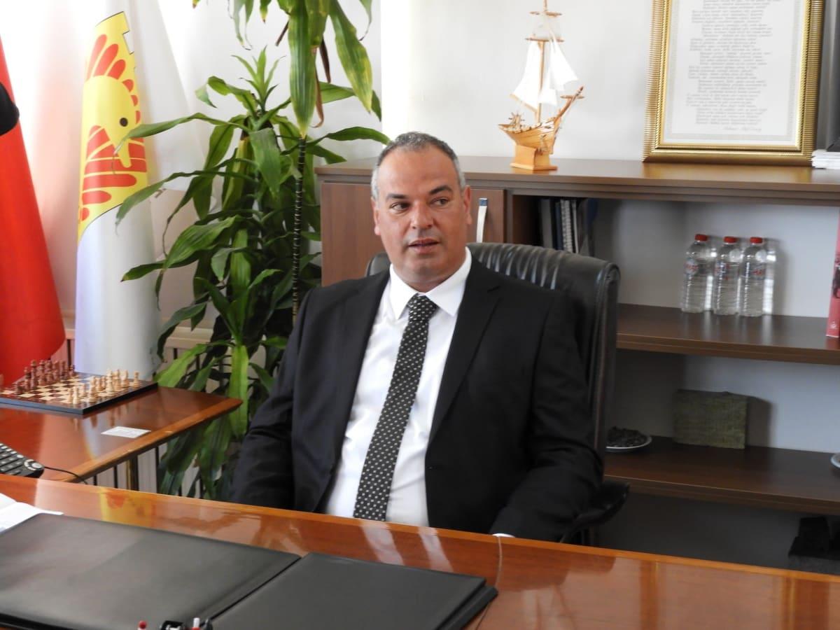 Enez' in yeni  Belediye Başkanı Özkan Günenç