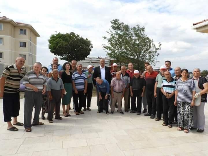 Enez'de geçici rehabilitasyon merkezi açıldı
