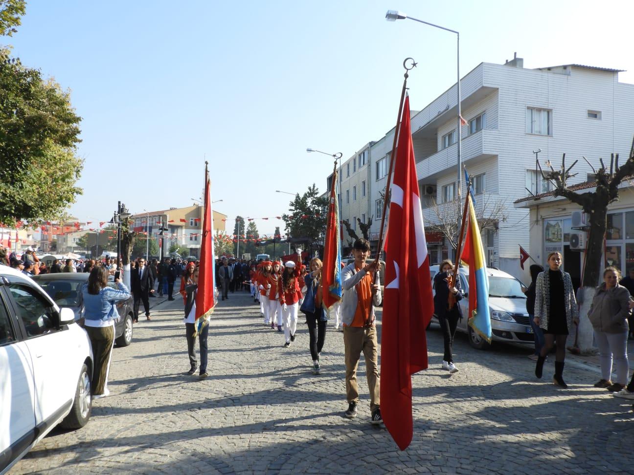 Enez'de Cumhuriyet Bayramı Coşkusu