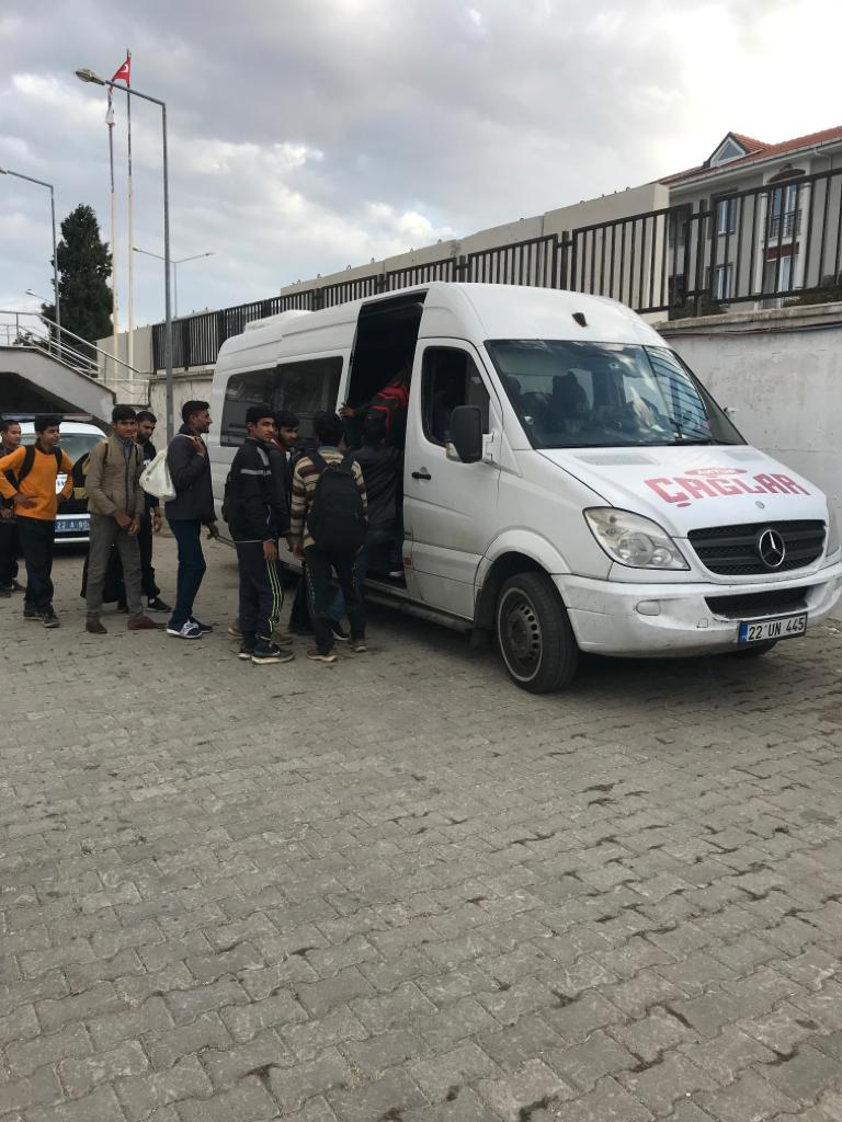 Yunanistan'a yolculuk Enez'de son buldu
