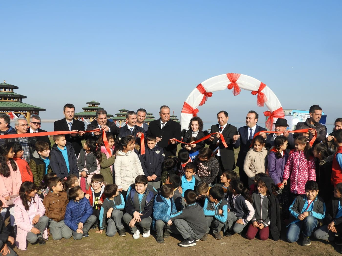 Enez Gala Gölü Milli Parkta Proje Açılışı