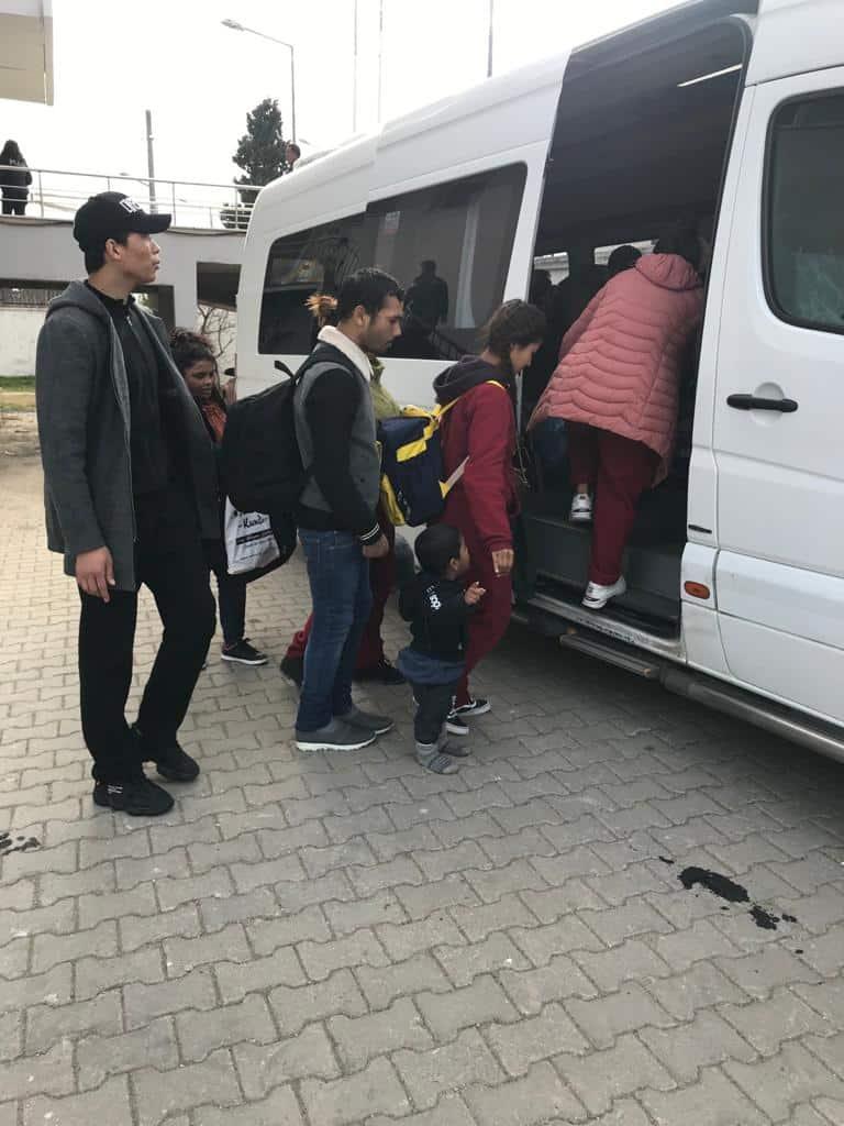 Enez'de Sahil Güvenlik 22 Göçmen yakaladı