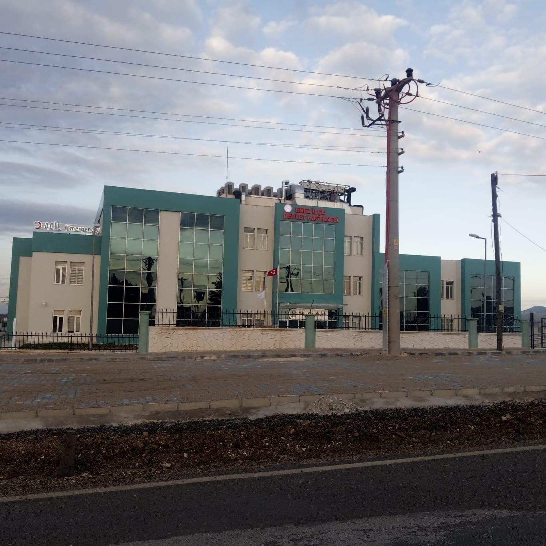 Enez Devlet Hastanesi yeni yerinde hizmete başladı