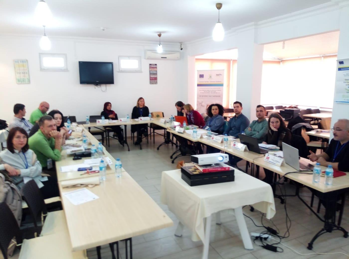 Sulak alanların korunması proje toplantısı Enez'de gerçekleştirildi