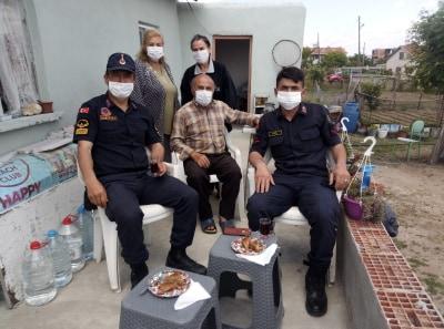 Jandarma Halkın Bayramını Kutladı