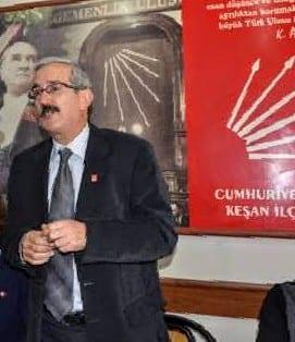 CHP Kesan İlçe Başkanı Recep Pekcan, Danişment çöplüğüne dikkat çekti..