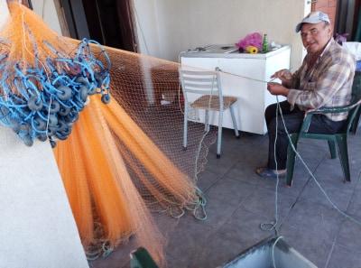 Balık av yasağında ağlarını donattılar