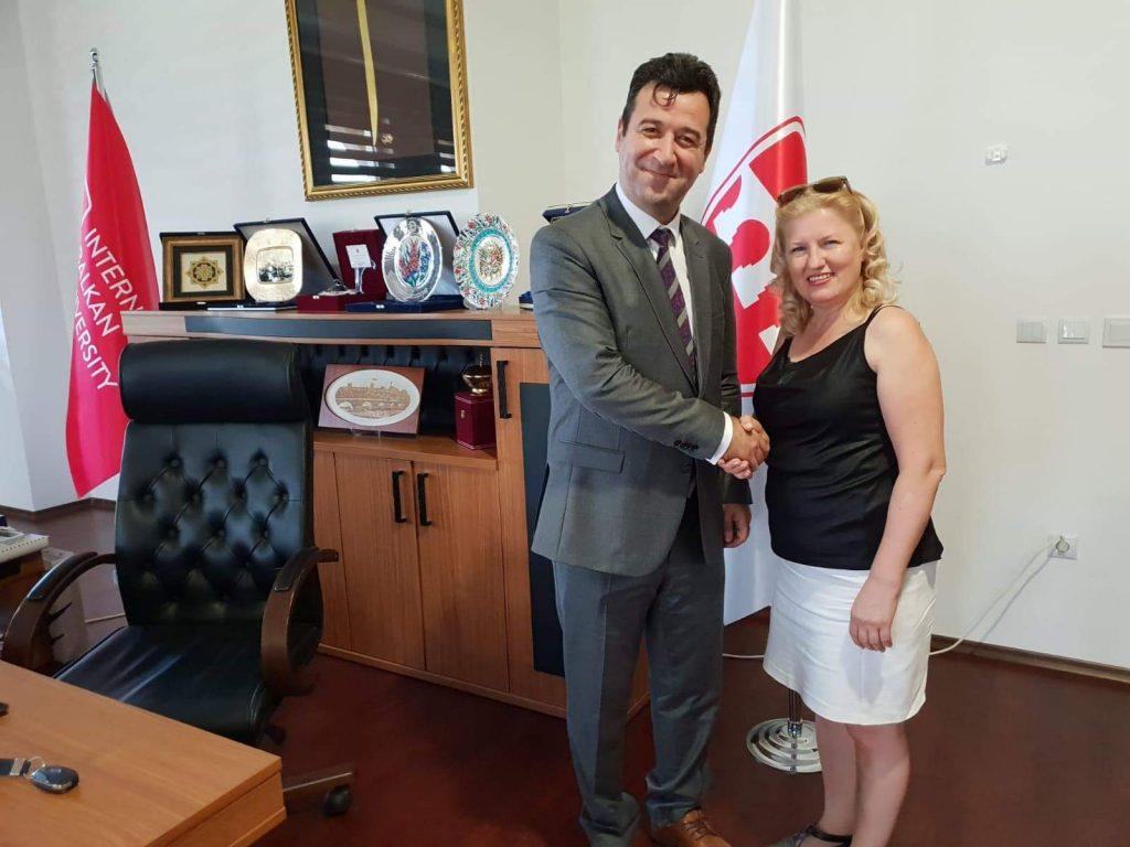 Kıymet Kara Balkan Üniversitesi temsilcisi oldu