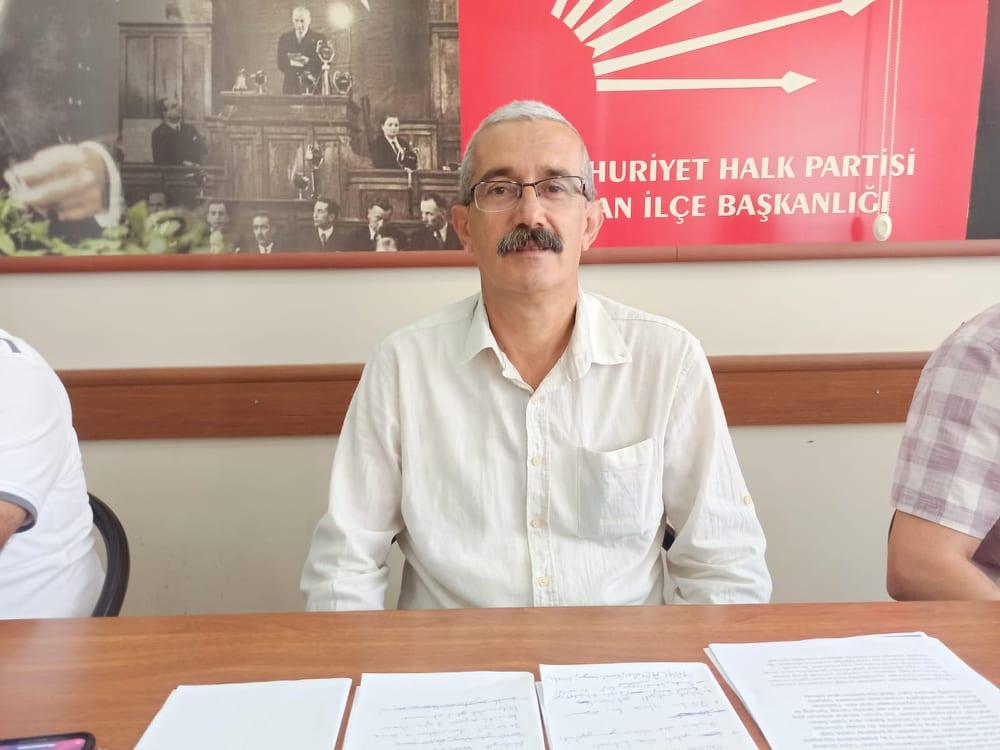 CHP Keşan İlçe Başkanı Recep PEKCAN Gaziler Gününü Kutladı