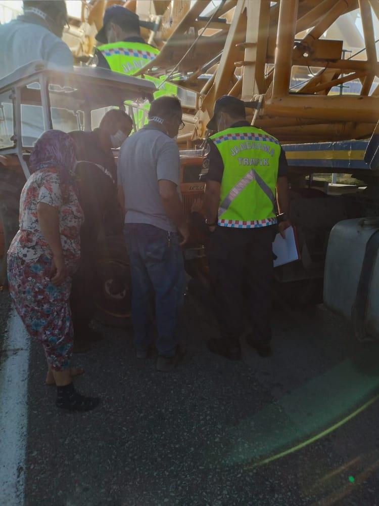 Keşan Enez karayolundaki kazada iki kişi yaralandı