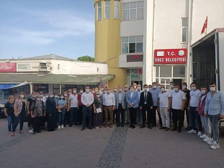 Ak Parti Edirne İl Başkanı Belgin İba'dan Enez'e ziyaret