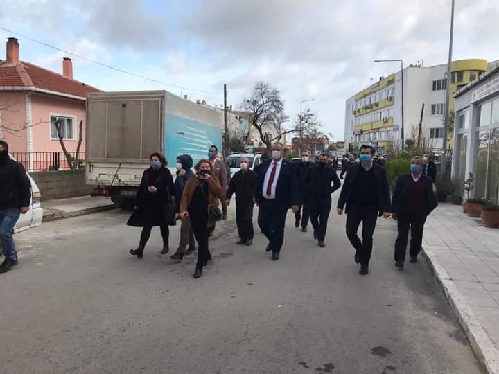 Edirne CHP Milletvekili Okan Gaytancıoğlu Enez'i ziyaret etti