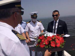 Denizcilik ve Kabotaj Bayramı Enez'de törenlerle kutlandı